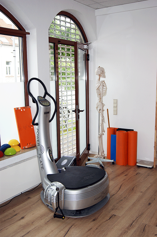 Praxis AH Physiotherapie Falkensee - Power Plate